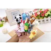 Anukriti Creations Set of 10 Animal Finger Puppet