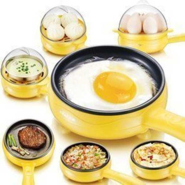 Stvintm 2 In 1 Electric Omelette Pan / Frying Pan / Egg Boiler New
