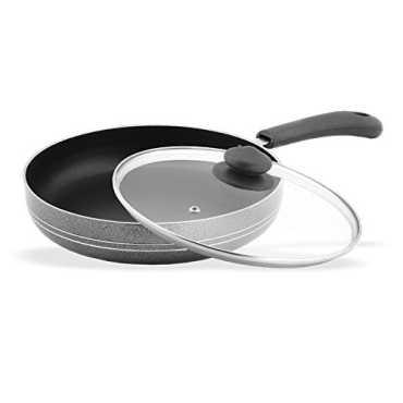 Sumeet Nonstick Fry Pan with Glass Lid 2 25 Liters