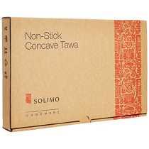 Solimo Non-Stick Concave Tawa, 28cm
