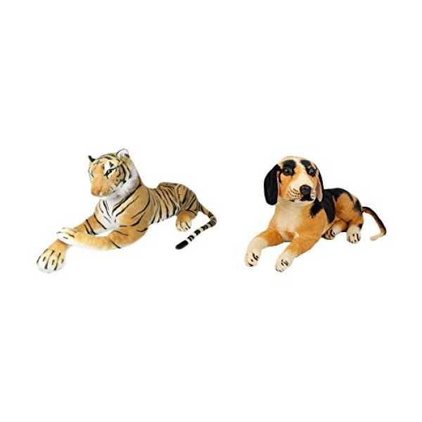 Deals India Tiger And Black Dog