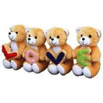 Amardeep and Co Love Teddies Beige 7*18*5 inches  - ad1140
