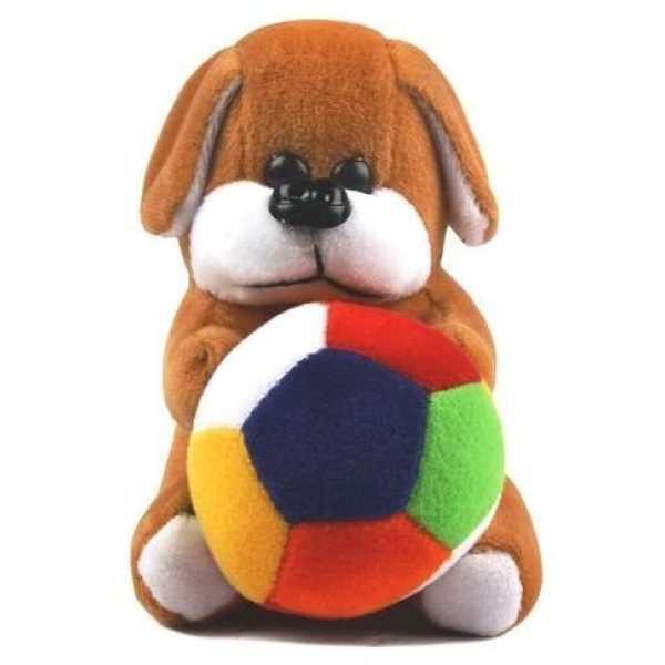 Richy Toys Dog Cute Teddy Stuffed Soft Plush Soft Toy Kids Birthday (19Cm)