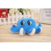 Skkylofts 18cm Cute Octopus Soft Stuffed Toy Sea Animal Fish Kids Baby Birthday Gift … (Starfish Octopus)