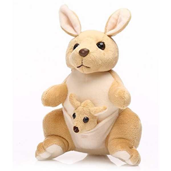 Deals India Mother and Baby Kangaroo Beige
