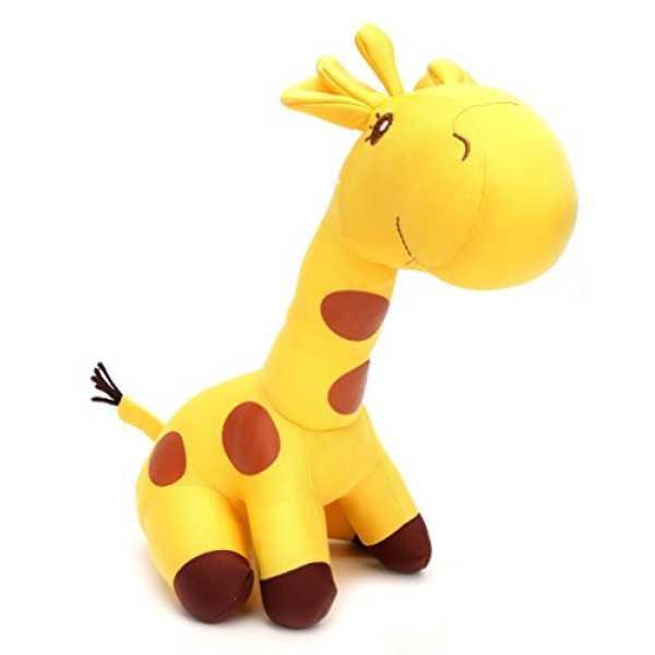 Tickles Yellow Giraffe Stuffed Soft Plush Toy Love Girl 35 cm