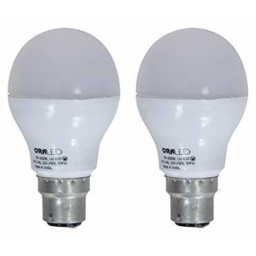 ORA 7W B22 LED Bulb Pack of 2 Cool White