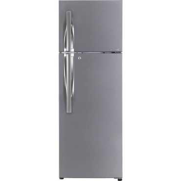 LG GL-T322RPZU 308 L 3 Star Frost Free Double Door Refrigerator - Steel