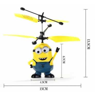 Madink Flying Minion Helicopter With Remote