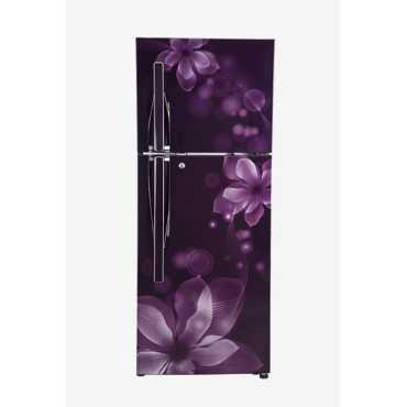 LG GL-T292RPOU 3S 260L Double Door Refrigerator (Orchid) - Purple