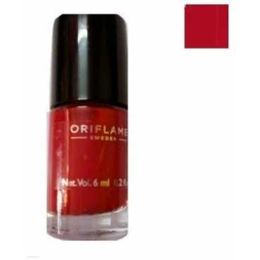 Oriflame Pure Colour Mini Nail Polish (Classic Red) - Red