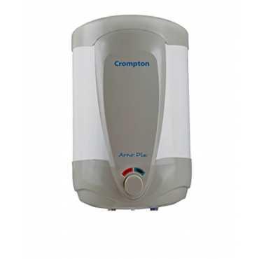 Crompton Greaves Arno DLX ASWH1425 25 L Storage Water Geyser - White