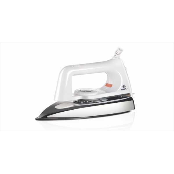 Bajaj Popular Plus 750 Dry Iron - White