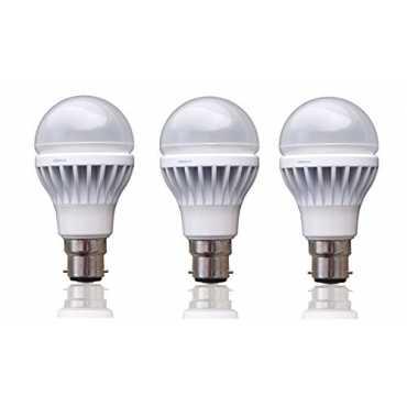 Syska SSK 8W B22 LED Bulb Cool White Pack of 3