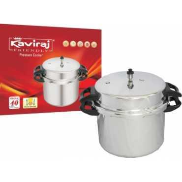 Kaviraj Kf bawarchi 16 Aluminium 16 L Pressure Cooker