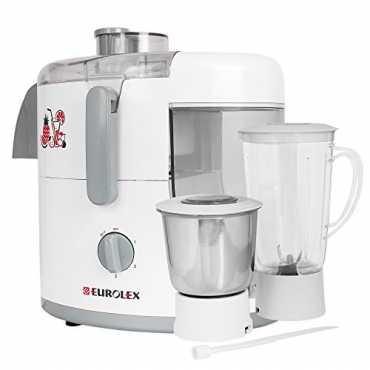 Eurolex JMG-1652 500W Mixer Juicer (2 Jars) - White