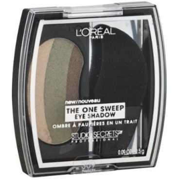 Loreal Paris Studio Secrets Professional The One Sweep Shadow (Playful Green/Hazel) - Green