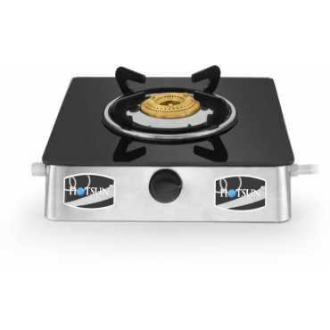 Hotsun Elite 118 Manual Gas Cooktop (Single Burner) - Black And Silver