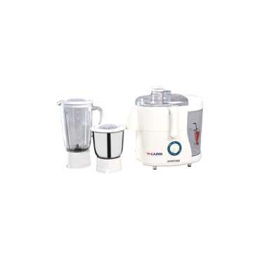 Lazer Passion 550W Juicer Mixer Grinder - White