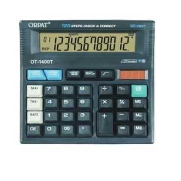 Orpat OT-1400T Basic Calculator