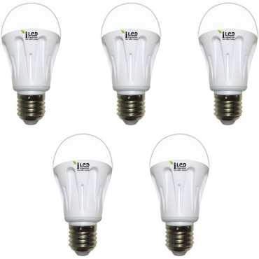 Imperial 7W-CW-E27-3562 LED Premium Bulb (White, Pack of 5) - White