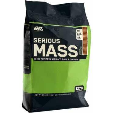 Optimum Nutrition Serious Mass (12lbs, Chocolate Peanut Butter) - Brown