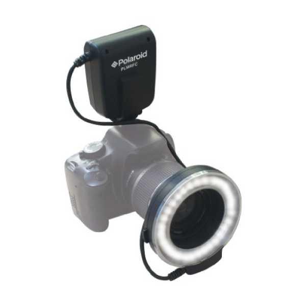 Polaroid PLMRFN Macro LED Ring Flash Light