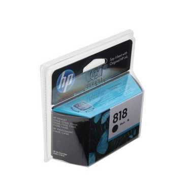 HP 818 Black Ink Cartridge - Black