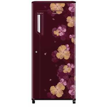 Whirlpool 215 Ice Magic Powercool PRM 200 L 4 Star Direct Cool Single Door Refrigerator (Azalea) - Red