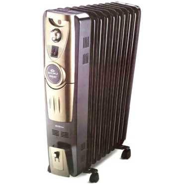 Bajaj Majesty RH 9 Plus Oil Filled Room Heater - Black
