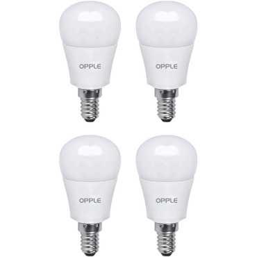 Opple 5W E14 LED Bulb (Cool Day Light, Pack Of 4) - White