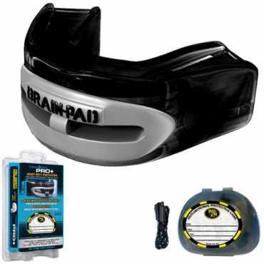 Brain Pad Pro Plus Strap Strapless Mouthguard Adult