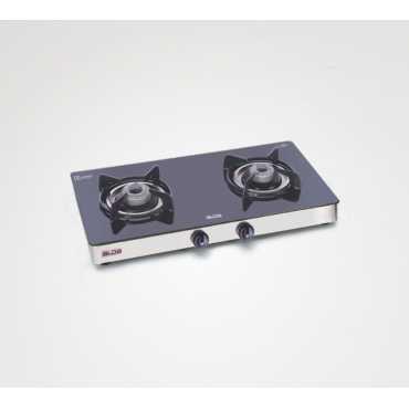 Alda CTA 121 GT 2 Burner Manual Gas Cooktop - Black