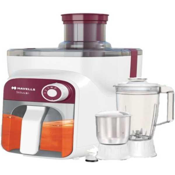 Havells Stilus XL 500W Juicer Mixer Grinder (3 Jars)