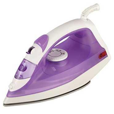 Kenstar Swift 1200W Steam Iron - White | Purple