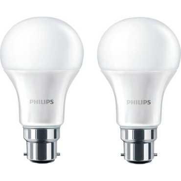 Philips Stellar Bright 12W B22 LED Bulb (Yellow, Pack of 2) - Yellow