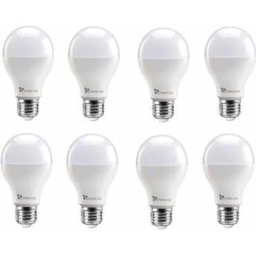 Syska 15W Round E27 1500L LED Bulb White Pack of 8