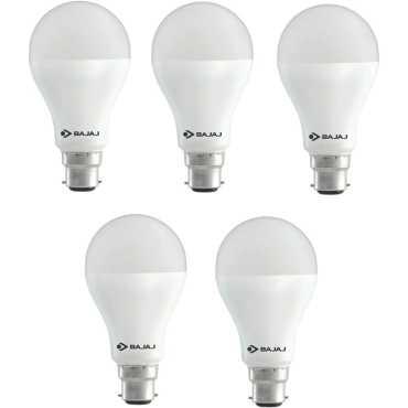 Bajaj 12 W LED CDL B22 HPF Bulb White (pack of 5) - White