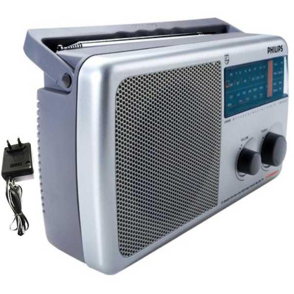 Philips IN-RL384TV/N FM Radio - White/black