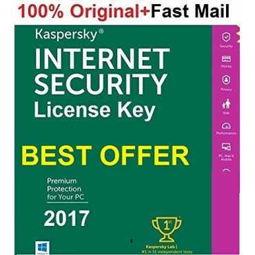Kaspersky Internet Security 2017 1 PC 1 Year (Key)