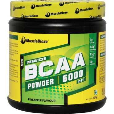 MuscleBlaze BCAA 6000 (400g,Pineapple)