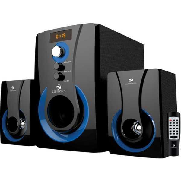 Zebronics SW2490 RUCF 2.1 Multimedia Speaker