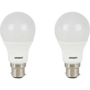 Eveready 7 W LED Bulb B22 White (pack of 2) - White