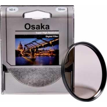 Osaka 58 mm Neutral Density 4 Filter