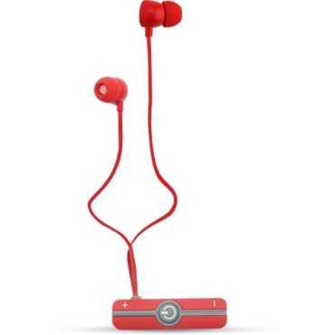 Portronics POR-837 Harmonics 206 Inline Stereo Earphones - Red