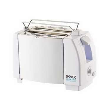 Roxx Maxi 5533 2 Slice Pop Up Toaster - Steel