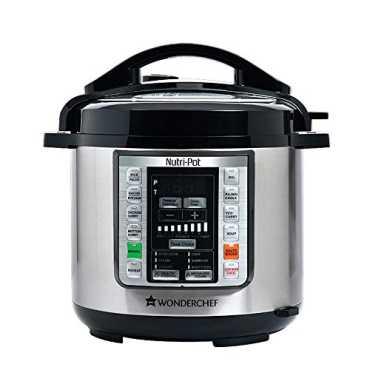Wonderchef Nutri Pot 1000W Electric Cooker - Black