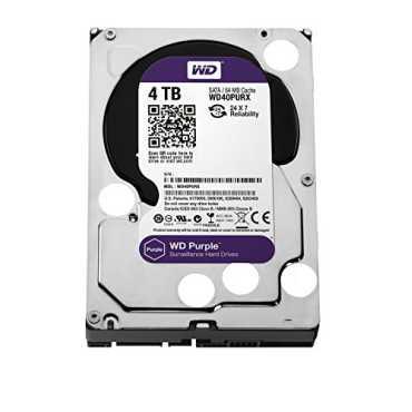 WD WD40PURX 4TB Desktop Internal Hard Disk - Purple