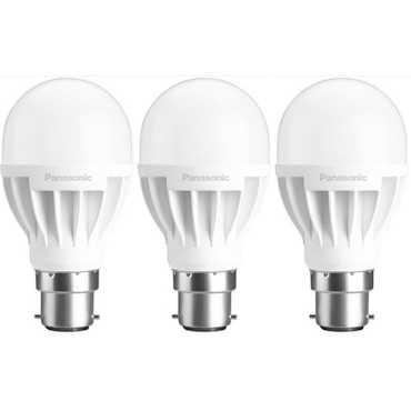 Panasonic 7W B22 LED Bulb (White, Pack Of 3) - White