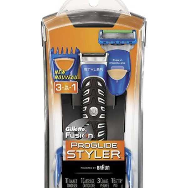 Gillette Fusion Proglide Powe Styler 3 In 1 Razor